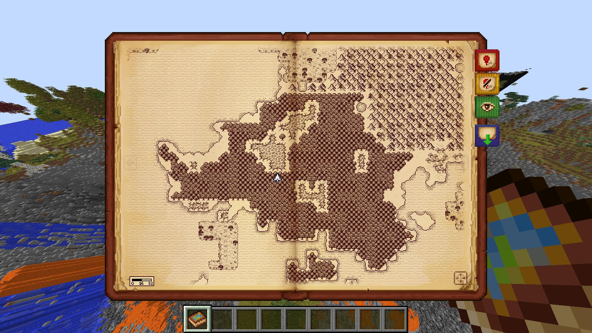Minecraft Karte.Antique Atlas Mod 1 11 2 1 8 1 7 10 Minecraft Modinstaller