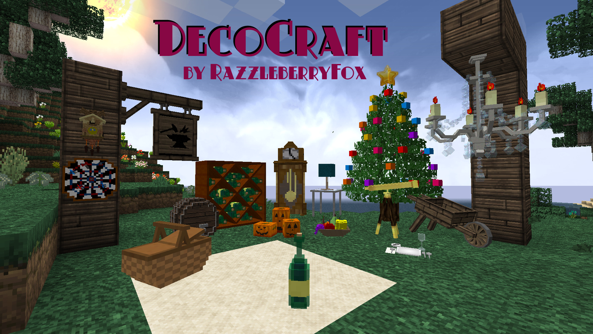 Decocraft mod for Minecraft modernes haus download 1 7 2