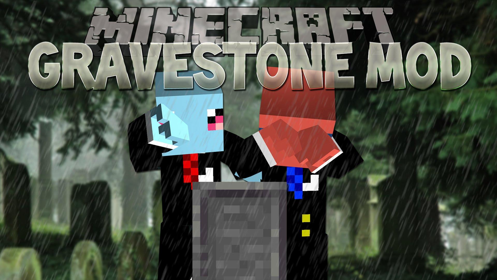 Gravestone Mod - Minecraft spieler finden mod