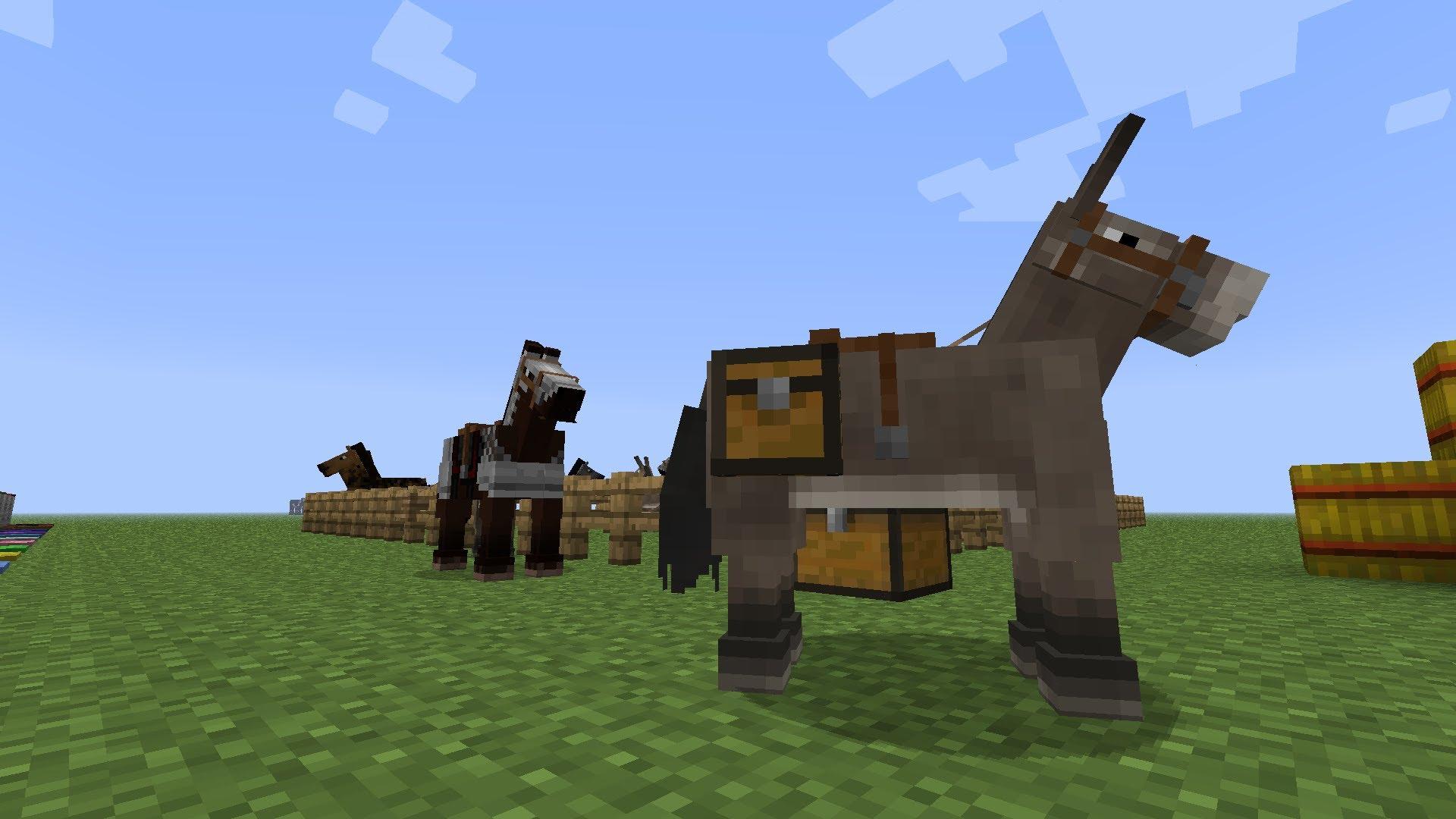 Simply Horses Mod Minecraft Modinstaller - Minecraft spiele mit pferden