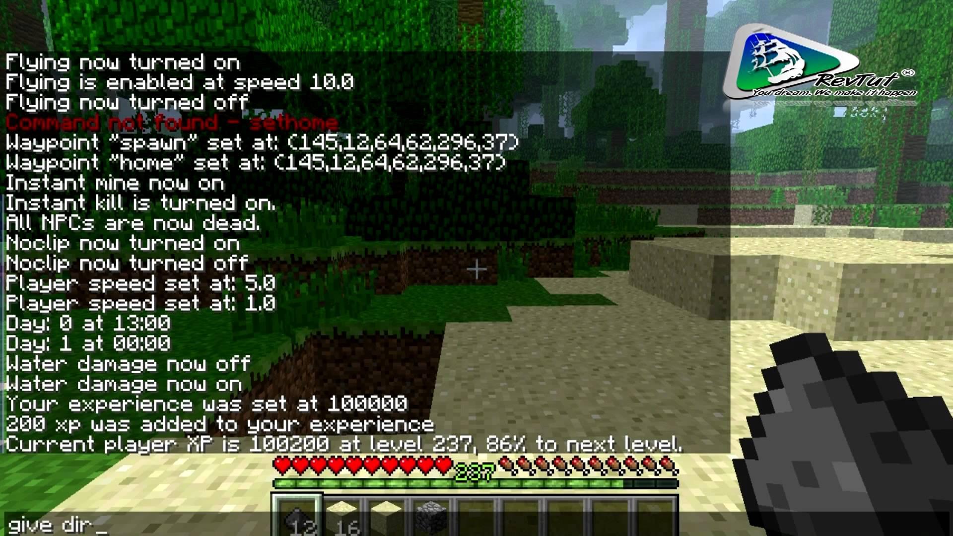 Single Player Commands Mod - 1.6.2   Minecraft Modinstaller