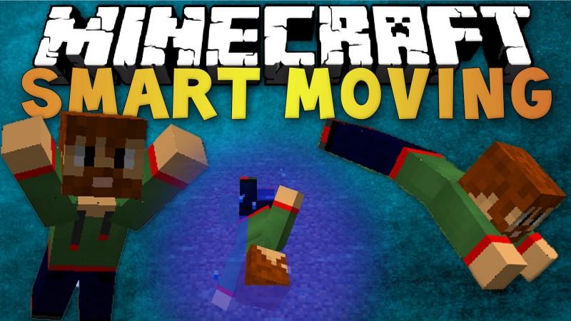 скачать мод на майнкрафт 1.7.10 smart moving mod #11