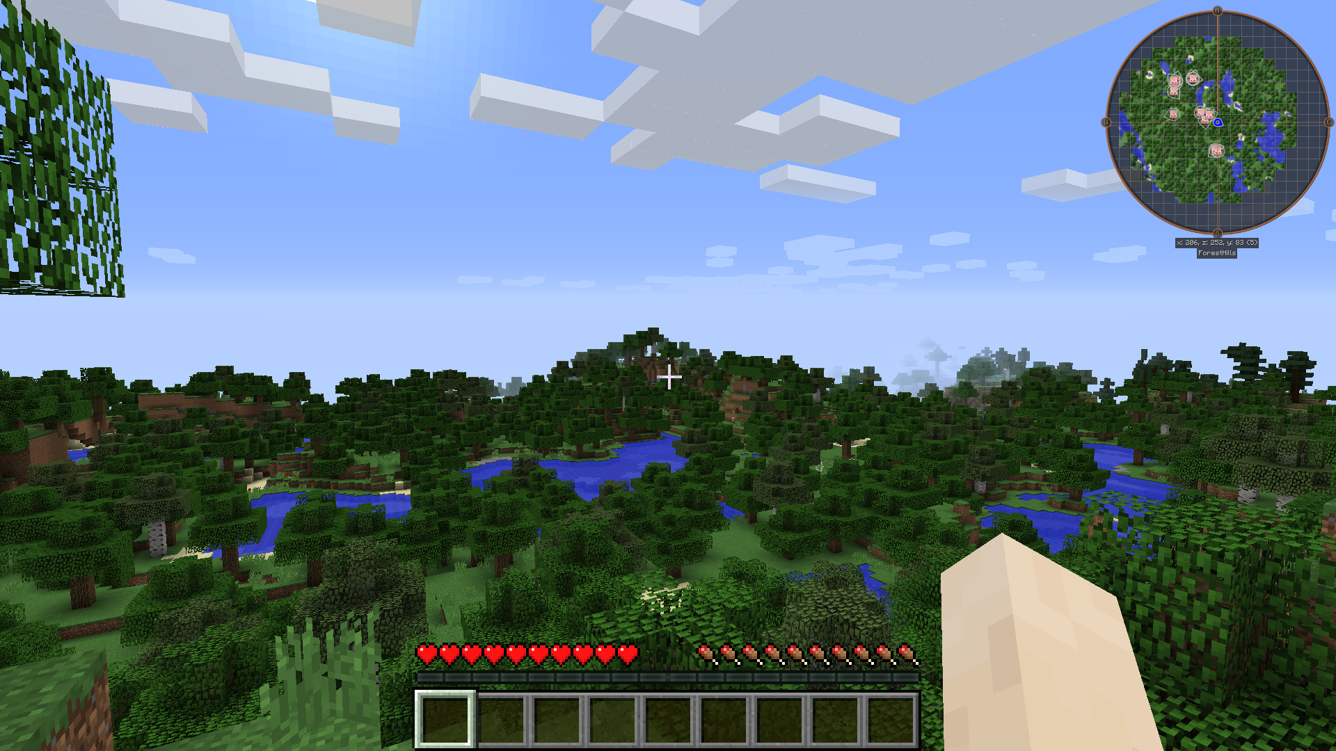 JourneyMap Mod - Journey map para minecraft 1 10 2