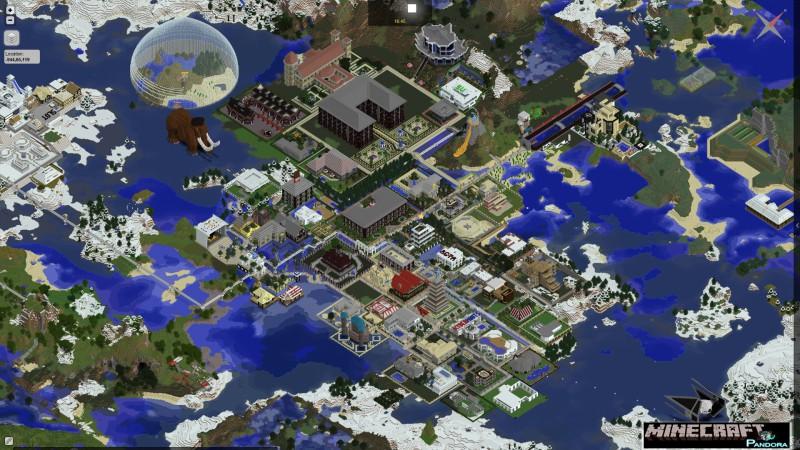 DynmapForge Mod - 1 9/1 8/1 7 10 | Minecraft Modinstaller